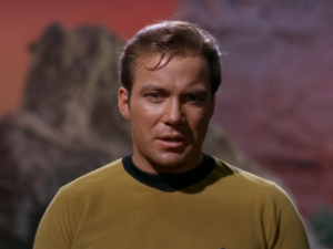 Kirk hates that honey smelling thing. It may be the same thing that killed the crew of the Farragut!