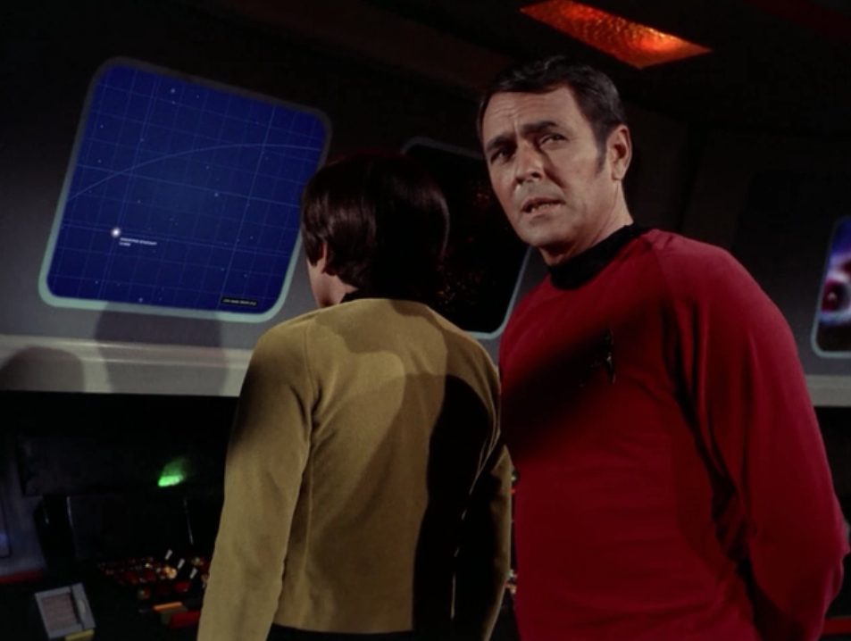 A ship is showing up on sensors. It could be a Klingon warship!