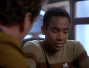 Jake says he doesn't want to be in Starfleet. O'Brien tells him about how his dad wanted him to play Chello