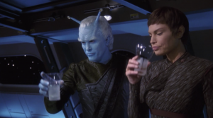 Archer manages to get Shran and Soval talking