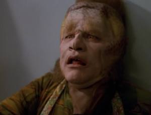 So Tuvok kills Neelix. Then we see it was just in the holodeck. Dude, you're NOT okay