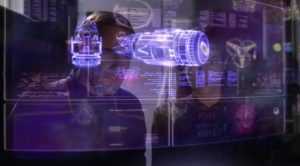 Archer checks Daniels' device to see if the ship is from the future. Wait, they still haven't figured that out yet?