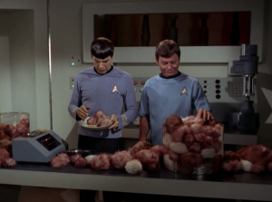 There starts to be more tribbles