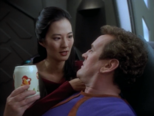 O'Brien asks for some coffee in the afternoon. Ha!