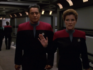 Chakotay thinks they need to adopt more Maquis strategies if they're going to make it