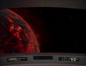 They enter into an area of space where there's crazy seismic stuff goin on with the planets