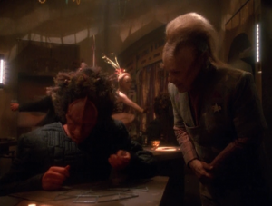 Neelix tries to help someone solve a puzzle