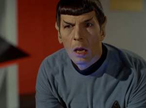 Spock gets the feeling 400 Vulcans just died