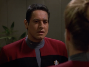 Turns out Paris acting out was all part of the plan. Janeway wanted Paris on the Kazon ship, and to make it believable, Paris started acting like a jerk with Chakotay