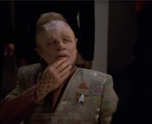 They're going to let Neelix continue to investigate the traitor because it might draw him out