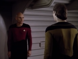 "Picard tells Data to snap out of it: ""It is possible to commit no mistakes and still lose. That is not a weakness, that is life"""