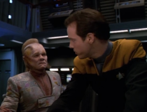 For some reason Neelix and Jonas are the only ones left in engineering