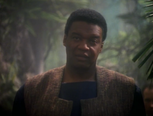 Sisko's friend is with the Maquis!