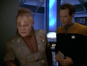 Neelix figures out that there must be a traitor on board and starts investigating
