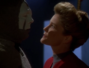 But then Janeway was just a hologram.