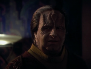 Bashir decides that he needs answers from the people who did this to Garak. He goes to Tain, and Tain gives Bashir information that saves him. Tain also tells Bashir that Elim is Garak's first name