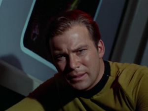 Kirk convinces the computer that it's murdered people, and the computer believes the punishment for murder is death, so it kills itself