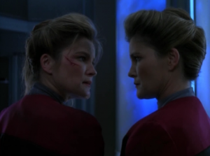 These Janeways are standing close to each other