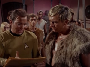 Then Kirk teaches how to interpret the constitution correctly. Well, he basically just teaches them how to read