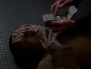 Garak is having medical problems