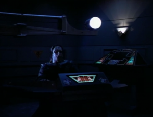 O'Brien is apprehended by the Cardassians. They only have one light, not four. The Cardassians must be cutting costs