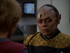 I don't really like how Tuvix frivolously throws in that something is logical every now and then to remind us he is part Tuvok