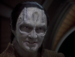 Garak says that he was exiled from Cardassia because he killed a transport with his friend Elim, a bunch of Bajorans, and the daughter of someone important.