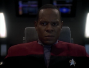 O'Brien and Dax were investigating something and they lose contact with them. After some Jem'Hadar come close to them, Sisko has to leave them behind