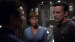 Major Hayes, T'Pol, and Reed come up with a plan to rescue them, but Reed and Hayes butt heads on who gets to go