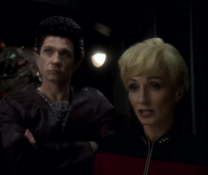 An agreement is reached, but it gives Bajor and the station to the Dominion