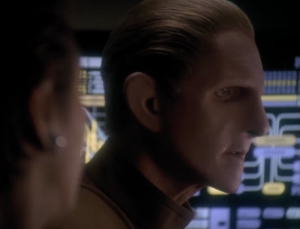 Odo rescued Kira and escaped in a shuttle. He left everyone else behind and went to see his stupid nebula instead