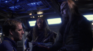 Archer is handed over to the klingons