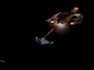 The vidiians attack! you know, like they always do