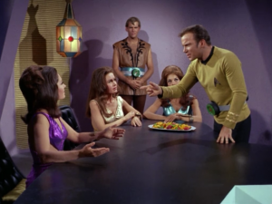 Kirk wants Spock's brain back!