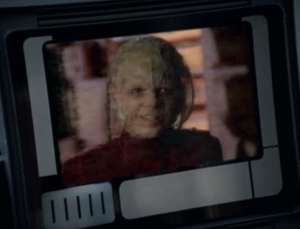 For some reason the vidiians still brought the Doctor's friend and the cure, even though I'm sure they were planning on attacking and not going through with the exchange. And they also aren't monitoring their own communications. What luck!