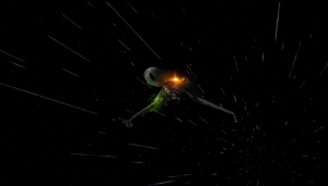 Duras attacks again, and gives Enterprise the chance to test their new photon torpedoes