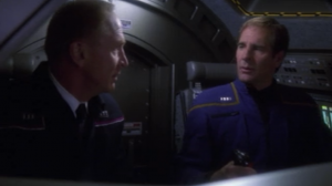 Admiral Forrest says there's going to be a bunch of new characters in the next season because Archer asked for some help from the military on board