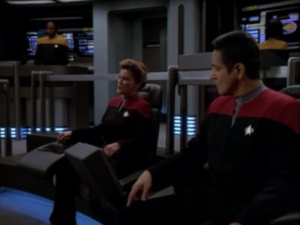 Tuvok steps down as captain and they get back Janeway and Chakotay. Not every story has a happy ending