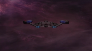 The episode ends with Enterprise entering the expanse!!