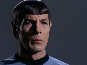 Spock asks the Romulan commander if they can still be friends
