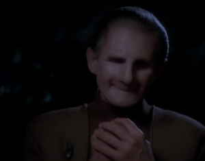 Odo links with the female changeling and he likes it. He says he's home