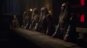 Almost like a second teaser, we see a Klingon council telling Duras that they're giving him another chance for honor by getting Archer