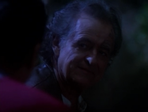 Chakotay's father appears to him in a dream and tells him about how his people cared for babies as their on even in the case of rape. Yeah this situation isn't really like that, but alright