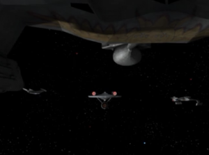 The Romulans are using a Klingon design for their ships