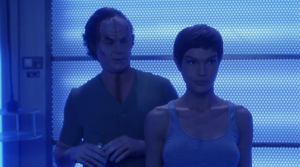 Back on Enterprise T'Pol and Phlox have been infected by something