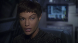 T'Pol is really uncharacteristically nosy in this episode. I guess it's a good thing otherwise this episode would just be mopey Archer flying to a dark nebula