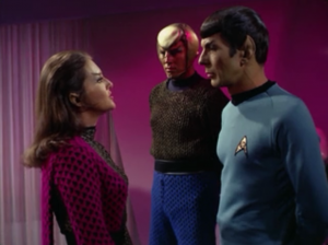 Spock says that they entered the neutral zone because Kirk was acting irrational