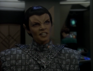 The Romulans weren't invited to the negotiations. They says they'll go to war if they aren't let in
