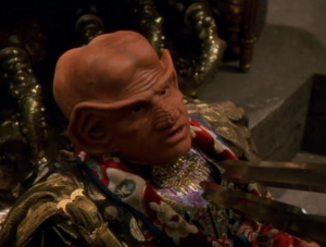 When they try to kill Neelix, he admits that he isn't Ferengi