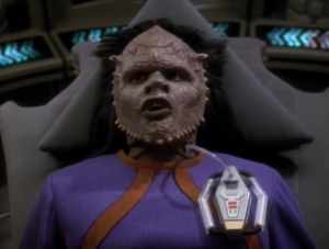 The Jem'Hadar needs his drugs. The founders designed him that way